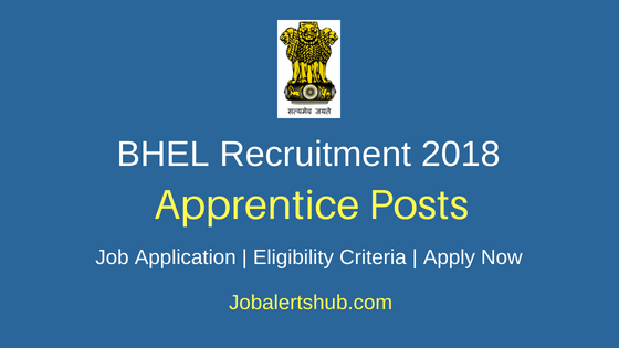 BHEL Apprentice Job Notification