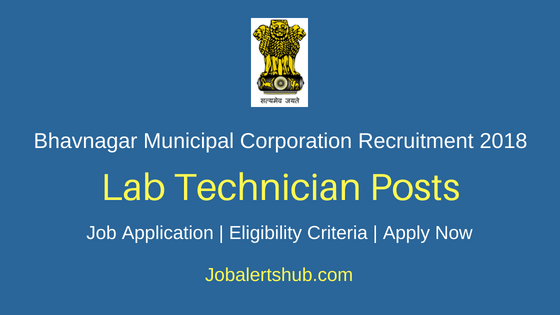 Bhavnagar Municipal Corporation Lab Technician Recruitment Notification