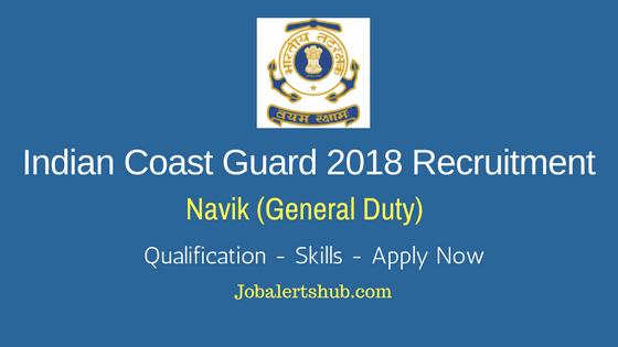 Indian-Coast-Guard-2018-Recruitment-Navik-General-Duty-Job-Notification