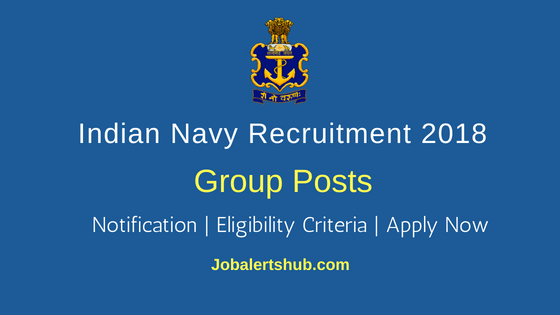 Indian-Navy-Civilian-Group-Job-Notification