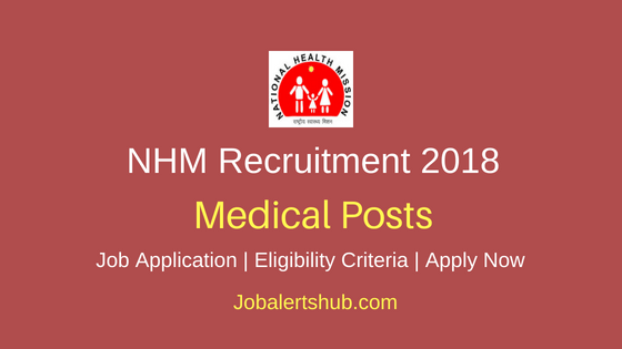 National-Health-Mission-Medical-Posts-Recruitment-Notification
