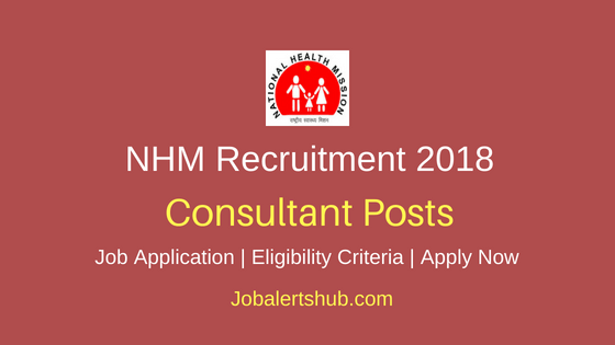 National-Health-Mission-Consultant-Recruitment-Notification
