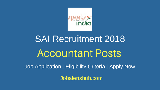 Sports Authority Of India Junior Accountant 2018 Recruitment 30 Posts