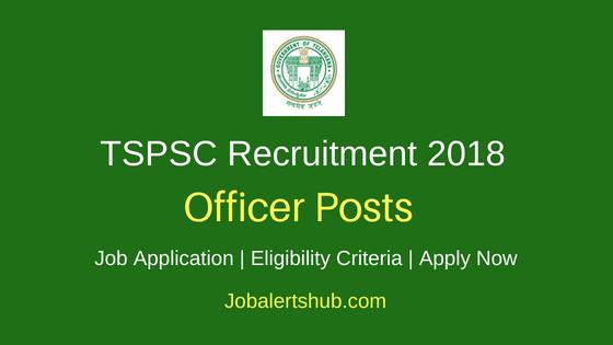 TSPSC Officer Recruitment Notification