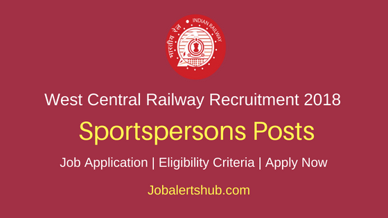 WCR Sportspersons job notification