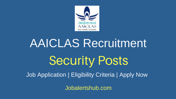 AAICLAS Security Job Notification