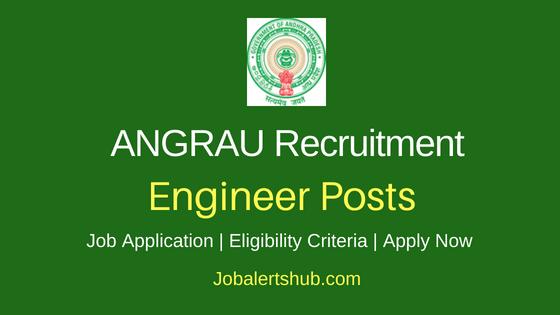ANGRAU Assistant Executive Engineer Notification – 07 Jobs