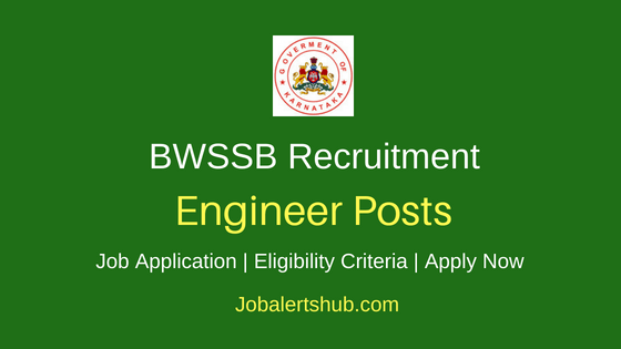 BWSSB Engineer Job Notification