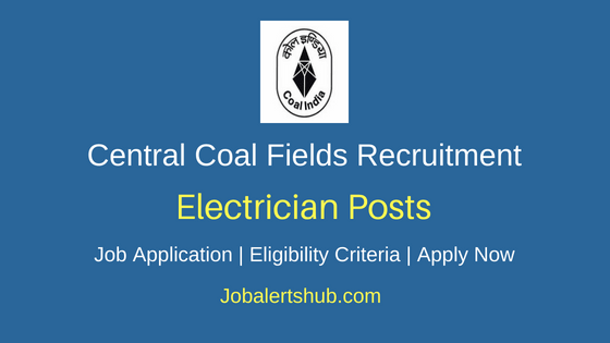 CCL Electrician Recruitment Notification