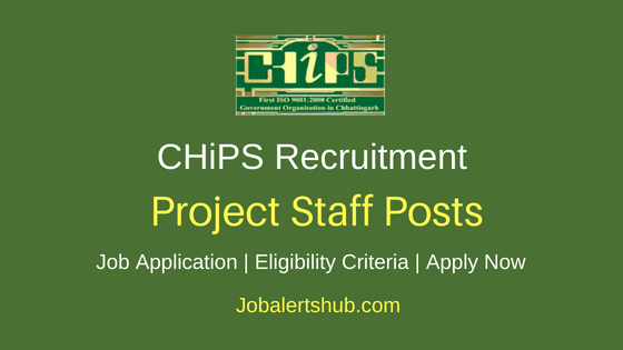 CHiPS Project Staff Job Notification