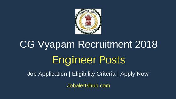 CGPEB Deputy Engineer Recruitment Notification