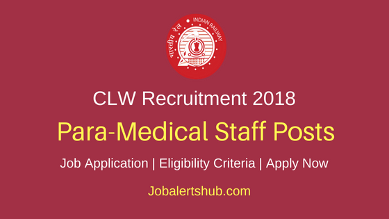 CLW Para Medical Staff  Recruitment Notification