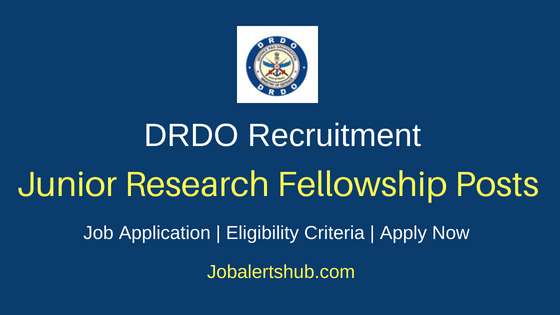 DRDO JRF Job Notification