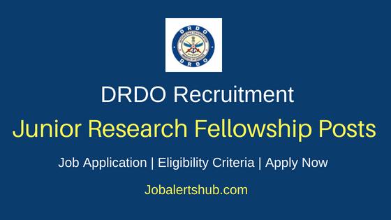 DRDO JRF Job Notification
