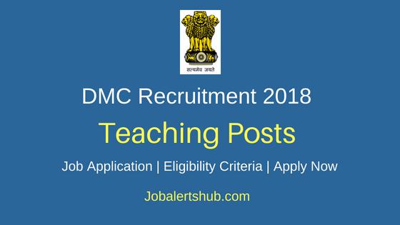 DMC Teaching Recruitment Notification