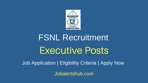 FSNL Executive Job Notification