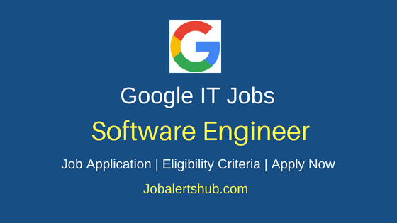 Google Software Engineer Job Notification