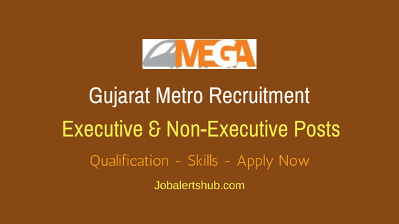 Gujarat Metro Rail Executive Job Notification