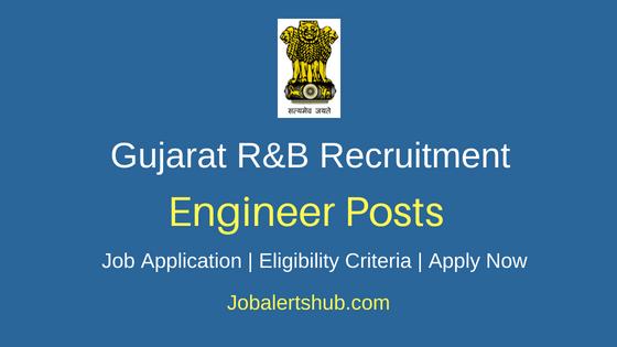 Gujarat R&B Dept Engineer Job Notification