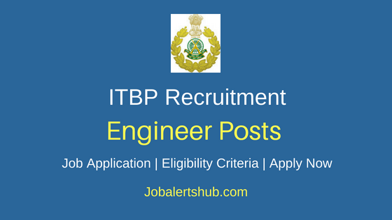 ITBP Engineer Job Notification