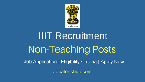 IIIT Assistant Job notification