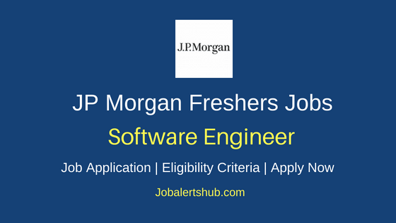 JP Morgan Chase Software Engineer Job Notification