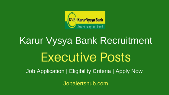 KVB Executive Job Notification