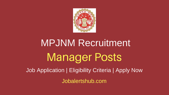 MPJNM Manger Job Notification