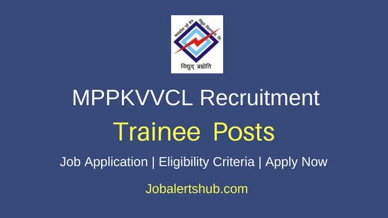 MPPKVVCL Trainee Job Notification