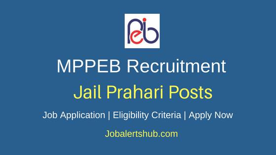 MPPEB Jail Prahari Job Notification