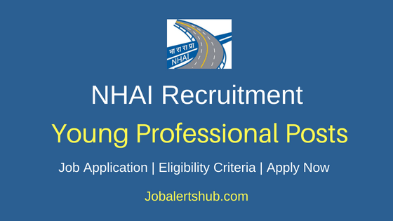 NHAI Young Professional Job Notification