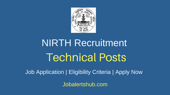 NIRTH Technical Job Notification