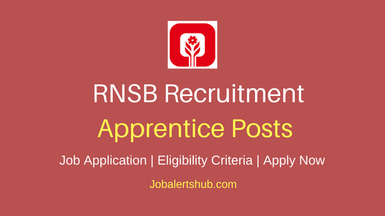 RNSB Apprentice Job Notification