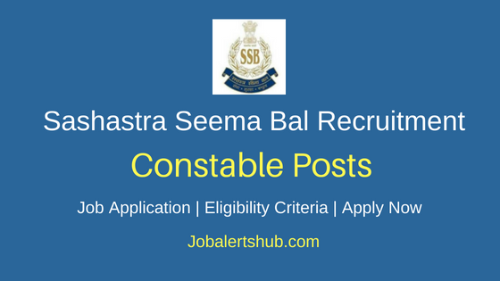 SSB Constable, Steno & Para Medical Recruitment Notification