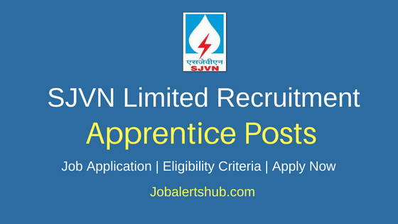 SJVN Limited Apprentice Job Notification