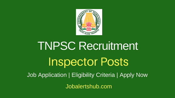 TNPSC Inspector Job Notification