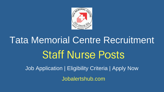 TMC Staff Nurse Job Notification