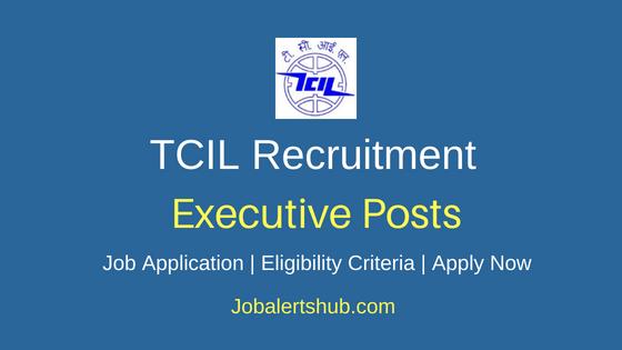 TCIL Executive Job Notification