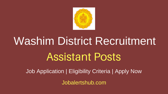 Washim District Assistant Job Notification