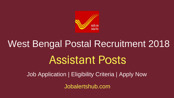 West Bengal Postal Circle Assistant Recruitment Notification