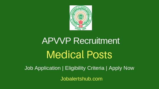 APVVP Medical Job Notification