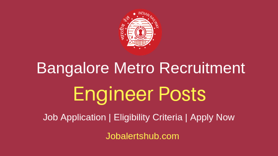 BMRCL Engineer Job Notification