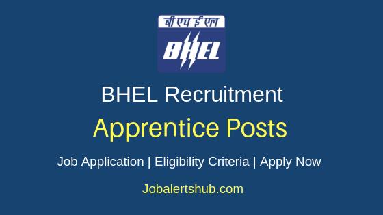 BHEL Trade Apprentice Job Notification