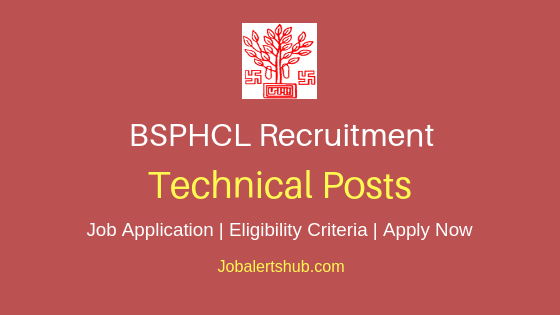 BSPHCL Technical Job Notification