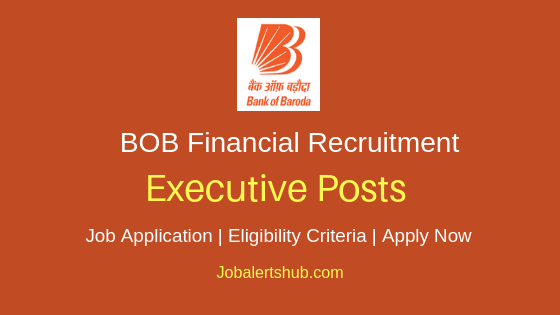 BOB Financial Solutions Limited Executive Job Notification