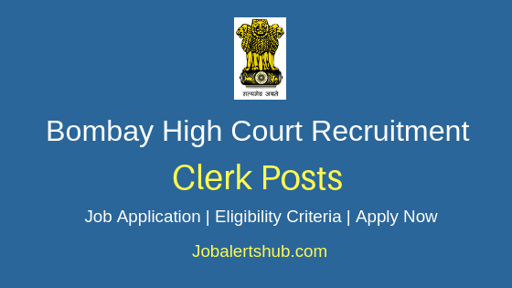 Bombay HC Clerk Job Notification
