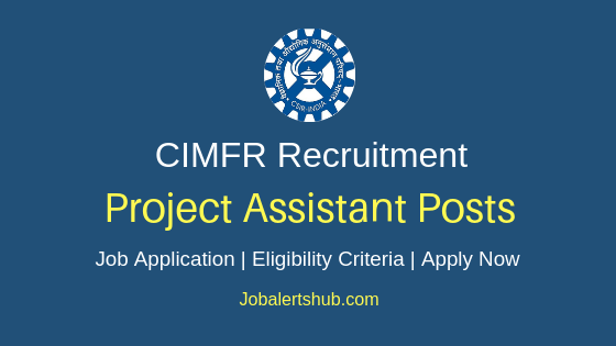 CIMFR Assistant Job Notification