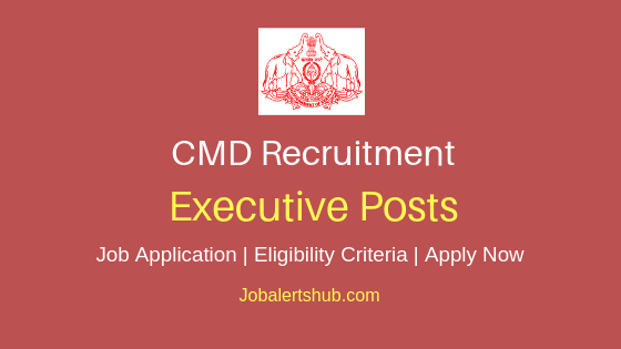 CMD Executive Job Notification