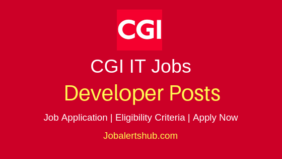 CGI Group Inc Developer Job Notification