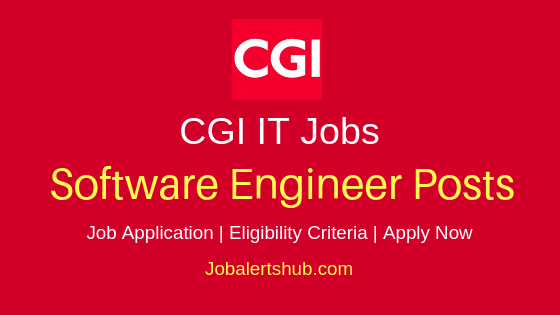 CGI Software Engineer Job Notification